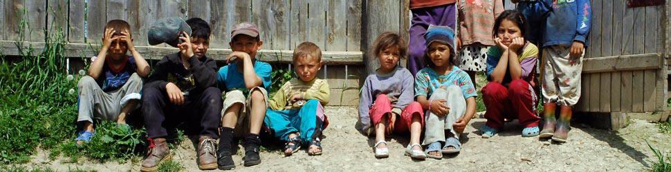 Kinder Rumaenien